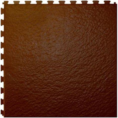 it tile slate antique brown 20 in x 20 in vinyl tile