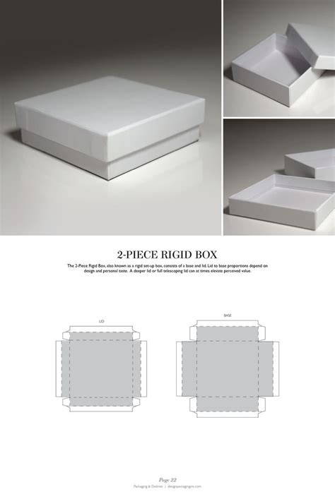 Packaging Dielines The Designer S Book Of Packaging Dielines Packaging Pick Of The Day Present Template 2