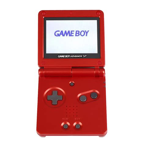 gameboy advance sp console ags 101 brighter screen gba sp console boy