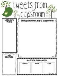 Kindergarten Classroom Newsletter Template classroom newsletter templates