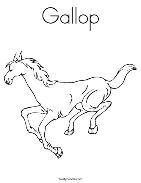 coloring pictures of horses running gallop coloring page twisty noodle