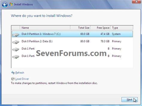 tutorial instal windows 7 pc clean install windows 7 from the windows 7 desktop