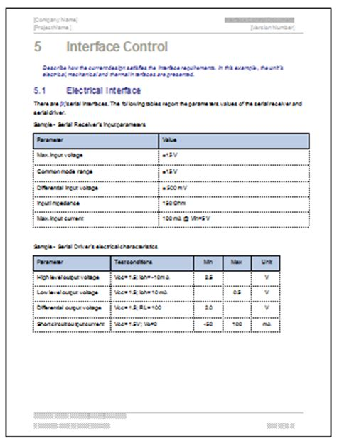 theme documentation template interface document ms word template