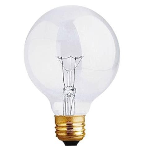 Bathroom Globe Light Bulbs Buy The Feit Elec 40g25 Bath Vanity Clear Globe Light