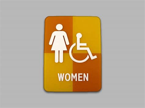 unique bathroom signs ada restroom signs ada bathroom signs unisex signs