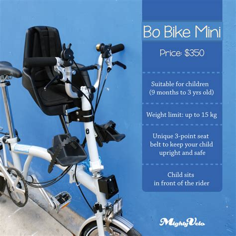 bobike child seat brompton on bike