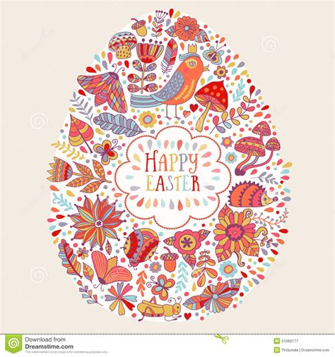 design free ecard vector easter design happy easter floral card bright