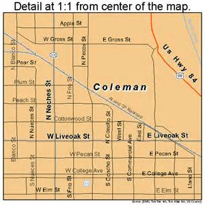 coleman map 4815916