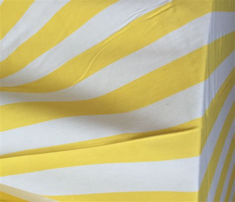 Striped Tablecloth yellow and white cotton stripe tablecloth the tablecloth