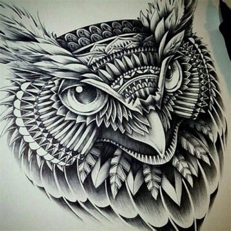 tattoo tribal owl tribal owl tattoo tumblr