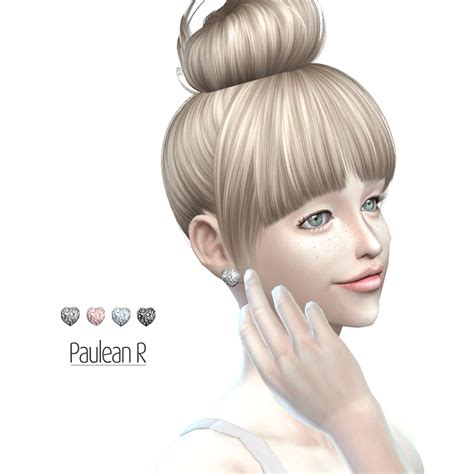 Decoration Stickers For Walls paulean r sims sims 4 diamond earrings sims 4 updates
