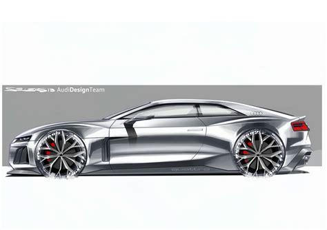 Audi Sport Design by Audi Quattro Sport 2013 Supercar Sketches