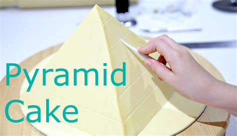 How Do You Make A Pyramid Out Of Paper - 10 year makes a pyramid cake cake style