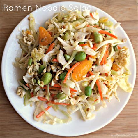noodle salad recipes ramen noodle salad recipe dishmaps