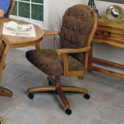 Ideas For Dining Chairs With Casters Swivel Kitchen Chairs With Casters Kitchen Ideas