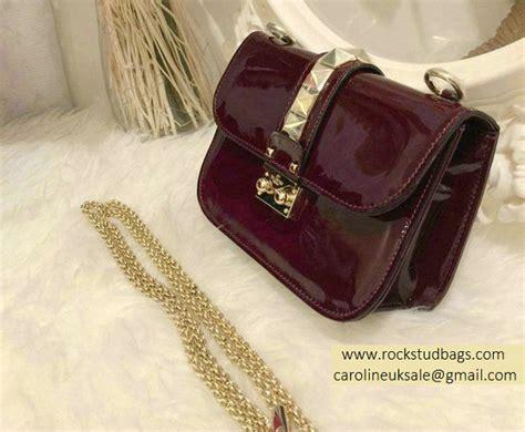 Valentino Small 21 Rockstud valentino burgundy rockstud flap small bag ve12118