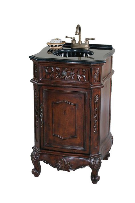Ultimate Accents Vanity by Ultimate Accents Walnut 20 Quot Vanity Sink 11201s