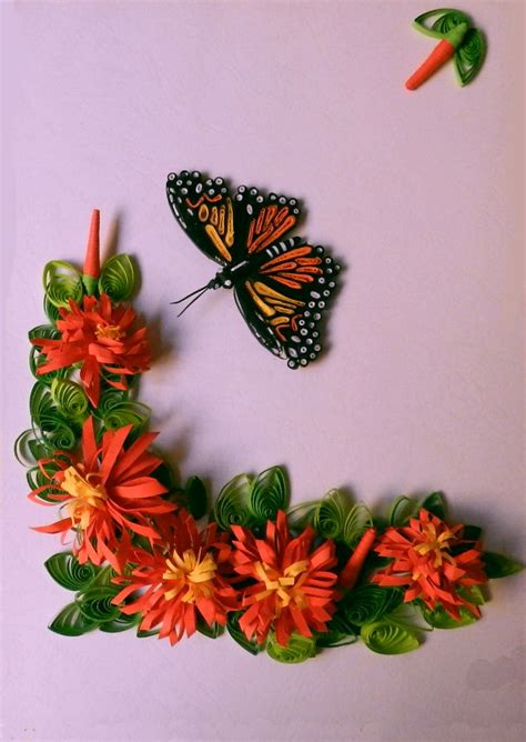 How To Make Paper Quilling Flower - 9 best images about paper quilling on