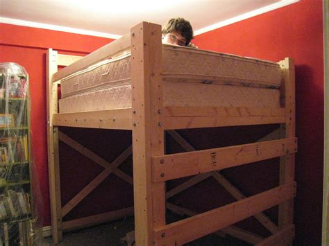 bunk bed plans for kids children loft bed plans 9762