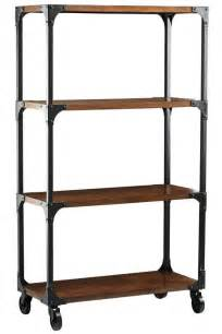 industrial looking bookshelves diy industrial glam bookshelves sooner spaces