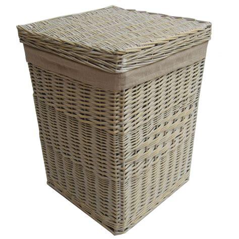 laundry basket buy provence white wicker laundry basket from the basket company