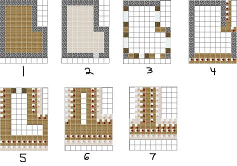 Galerry printable minecraft plans