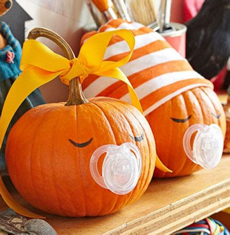 Small Pumpkins Decorating Ideas by 33 Cool No Carve Pumpkin Decorating Ideas To Try This