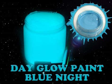 glow in the paint blue blue bright time glow in the paint