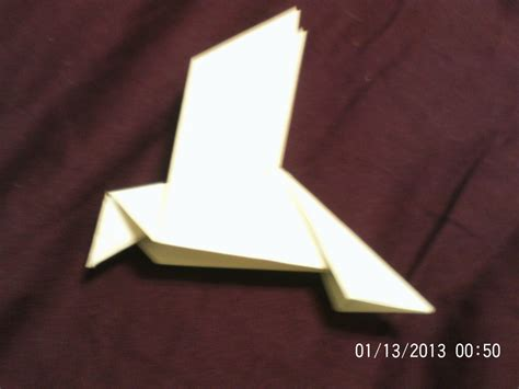 Origami Peace Dove - origami peace dove by daisytailsmousery on deviantart
