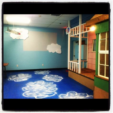 theme based class decoration 17 best images about sky classroom on