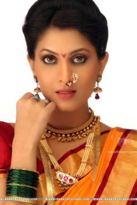 most beautiful actress in marathi film industry madhavi kulkarni actress in traditional maharashtrian