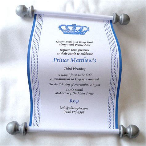 Scroll Baby Shower Invitations by Scroll Baby Shower Invitations Plumegiant