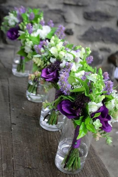 Where To Get Wedding Flowers by Best 25 Purple Green Weddings Ideas On Purple