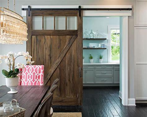 barn door kitchen pantry kitchen pantry with salvaged wood barn door on rails