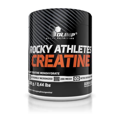 creatine athletes rocky athletes creatine
