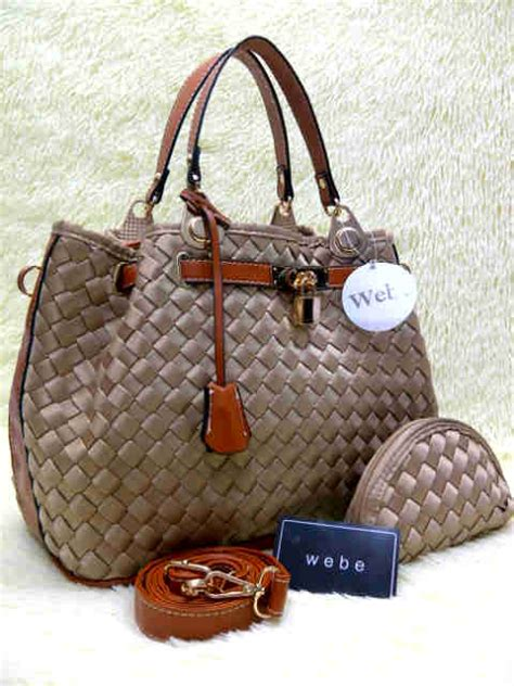 Webe 030 Semipremiun Bhn Polyster tas webe kd polyester 037 set pouch semor toko brand