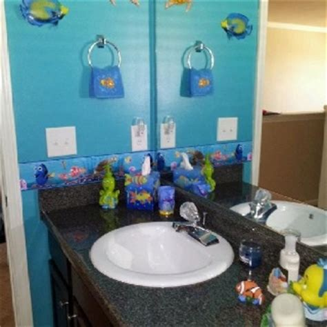 nemo bathroom accessories finding nemo bathroom kids bathroom pinterest