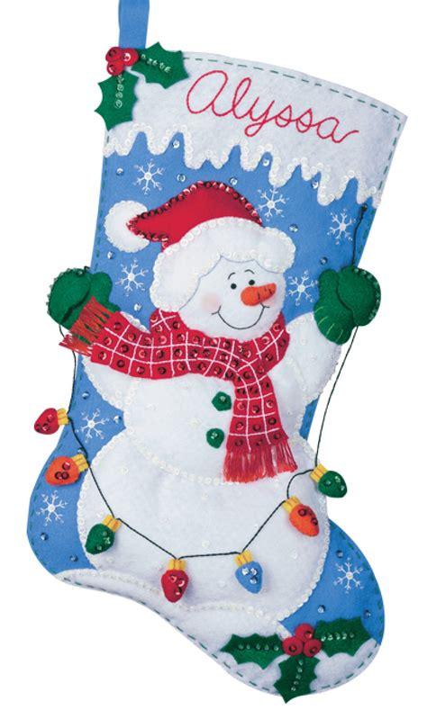 bucilla christmas snowman with lights bucilla kit