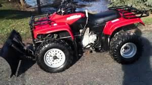 2003 Honda Recon 250 2001 Honda Recon 250 With Plow