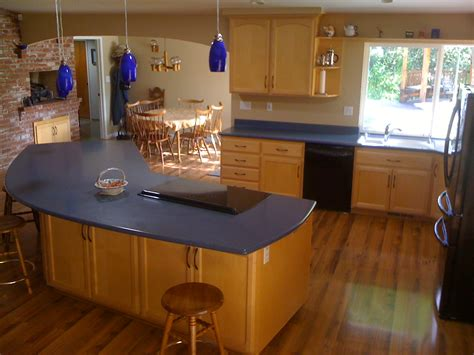 Blue Countertops Kitchen by Blue Eggs By Teresa