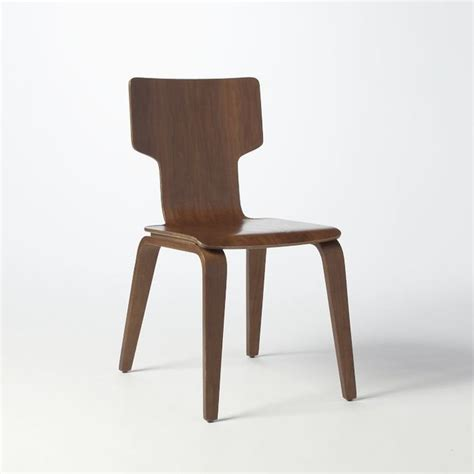 stackable chair midcentury dining chairs by west elm