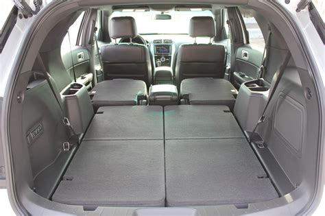 ford explorer trunk space ford explorer cargo space dimensions