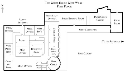 west wing white house file white house west wing 1st floor png wikipedia