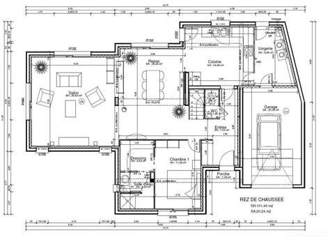 plan maison toit plat 3283 plan maison toit plat 160m2 ventana