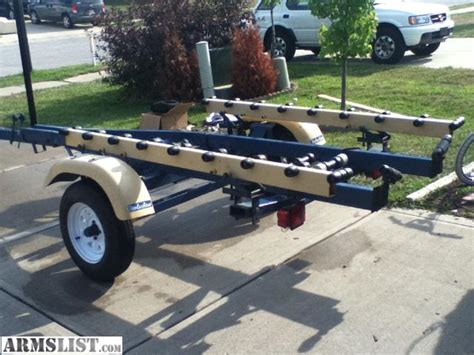 boat trailer with rollers for sale armslist for sale trade roller bunk 20 boat trailer
