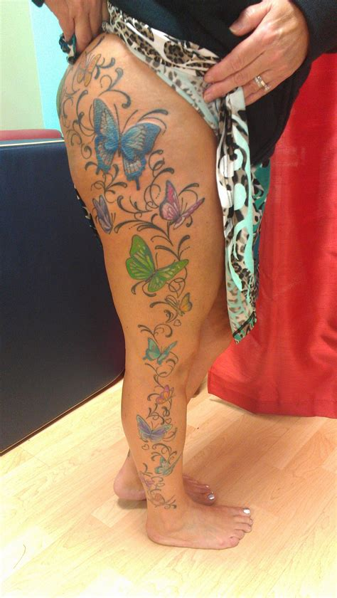 black rose tattoo courtenay my new leg by at apollo courtenay b c