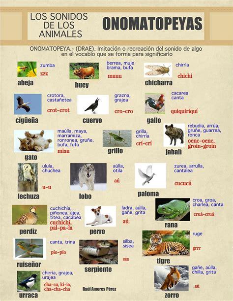 imagenes de animales y sonidos lengua y literaturap los sonidos de los animales