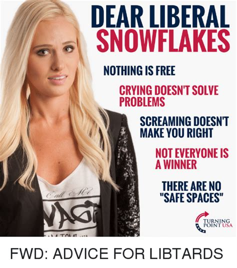 Screaming Snowflakes by Dear Liberal Snowflakes Nothing Is Free Doesn T