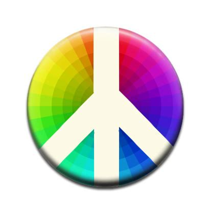 what is the color of peace vote for me badge