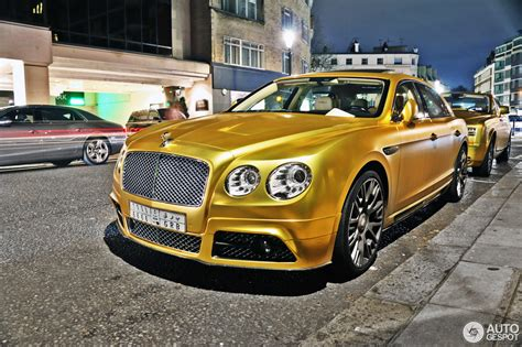 bentley flying spur mansory bentley mansory flying spur w12 10 august 2016 autogespot